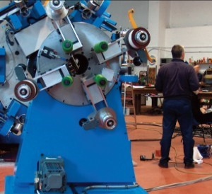 15 Axis Taping Machine for Large Diameter Pipes
